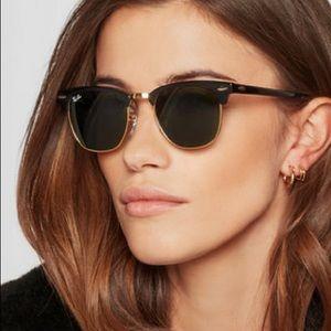 Club master raybans sunglasses